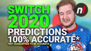 Nintendo Switch 2020 Predictions - 100% Accurate*