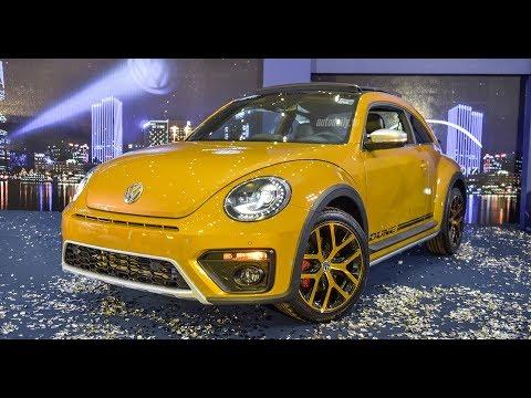 Xe con bọ Volkswagen Beetle Dune 2017 giá 1,469 tỷ đồng ra mắt tại Việt Nam