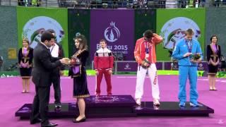 АЛЕКСАНДР БОГОМОЕВ (БУРЯТИЯ) Чемпион Европейских игр (61кг) церемония награждения