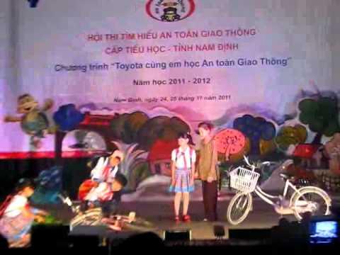 Hội thi an toàn giao thông tỉnh Nam Định năm năm học 2011 - 2012