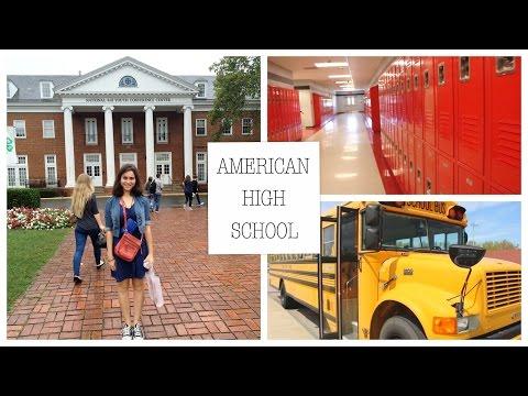 Экскурсия по американской школе   American High School