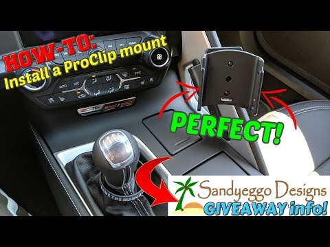 THIS Is Why You NEED This ProClip Phone Mount In Your C7 CORVETTE!!