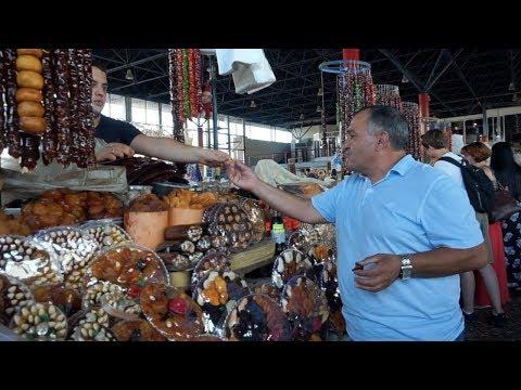 ВЛОГ. Прогулка по Еревану в вернисаж и центральный рынок