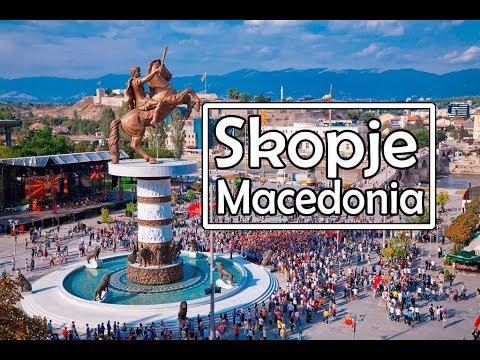 My Trip to Skopje Macedonia | Travel VLOG