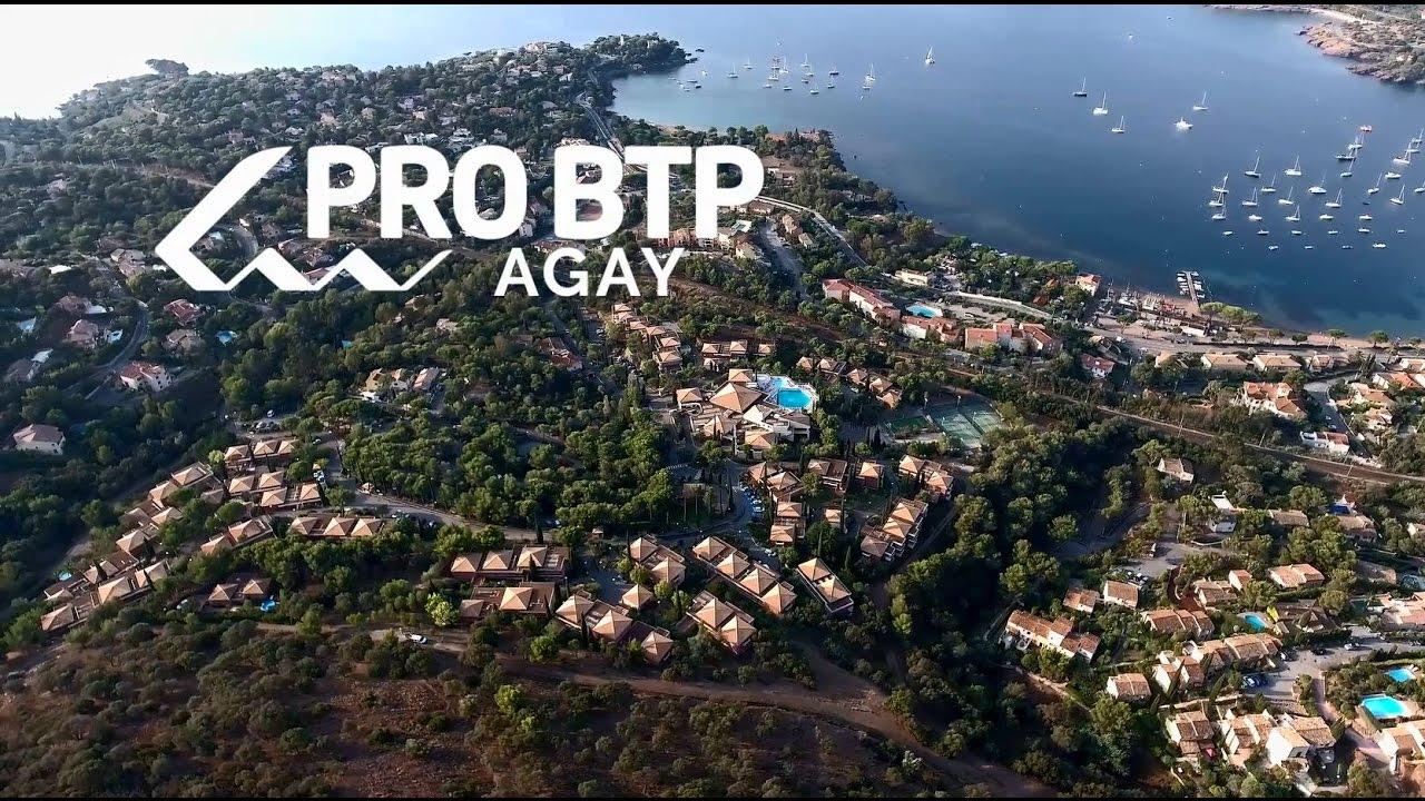 centre de vacance pro btp agay