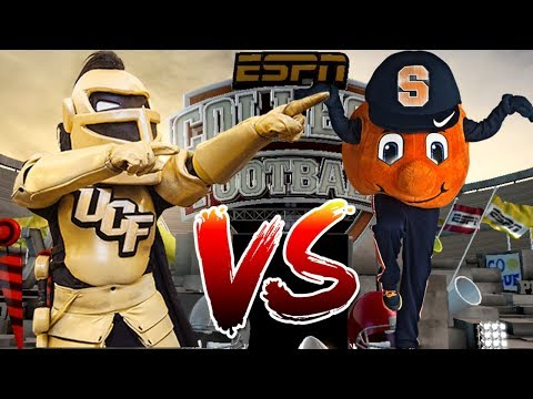 Can Syracuse Football Team Upset Another Ranked Team!?! - Thursday Throwback