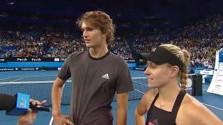 Team Germany on-court interview (RR) | Mastercard Hopman Cup 2019