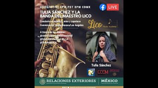 Presentacion Presentación musical desde Oaxaca con Tulia Sanchezmusical binacional desde