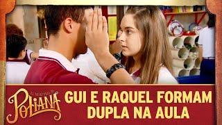 Guilherme e Raquel formam dupla na aula | As Aventuras de Poliana