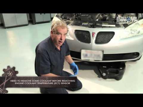How to diagnose a Faulty Engine Coolant Temperature (ECT) Sensor - 2005 Pontiac G6