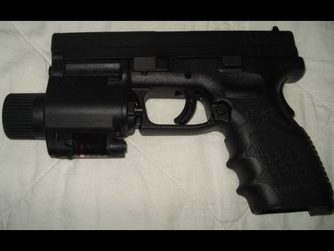 Tactical Pistol Gun Laser And Flashlight Glock Springfield