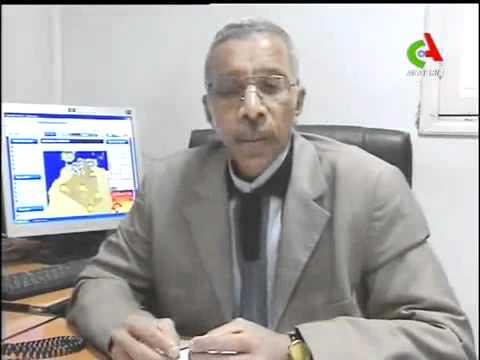 News on Algeria TV - Snow on SAHARA