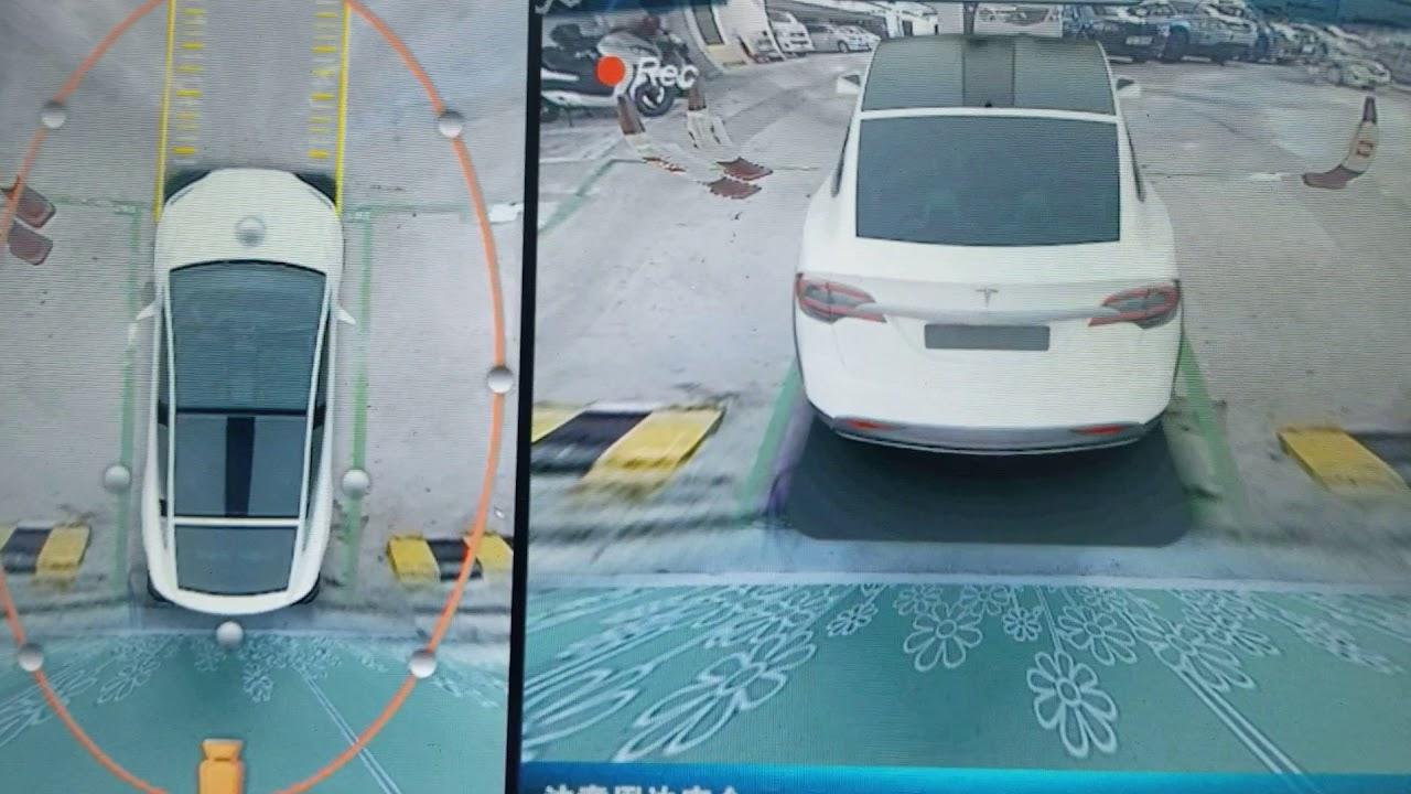 Tesla Model X 360 3D around view - YouTube