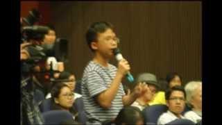 Bài phát biểu của học sinh trường Ams