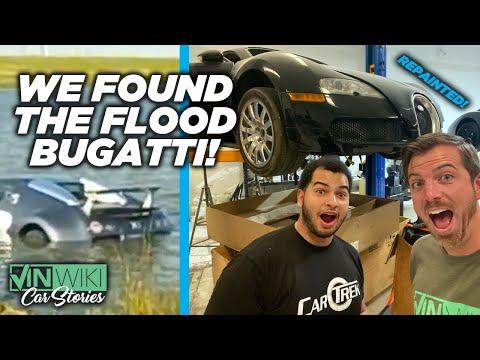 We found the flood Bugatti! The cheapest Veyron EVER