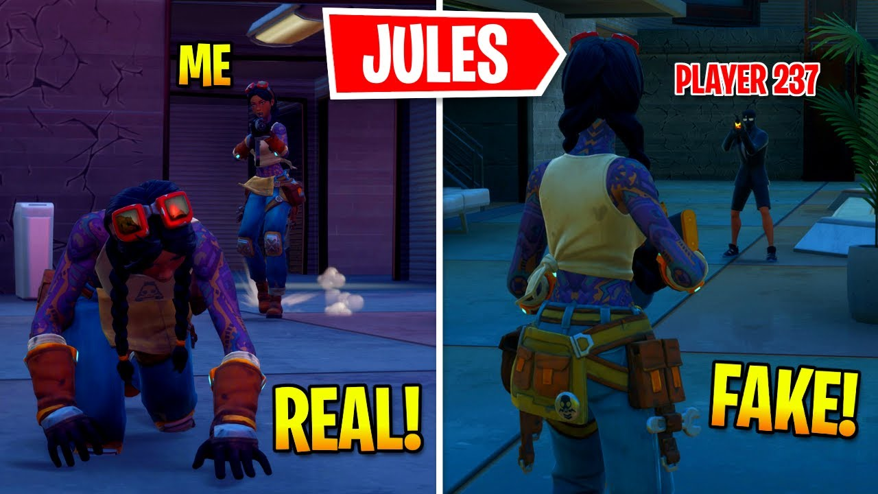 I Pretended To Be BOSS Jules In Fortnite