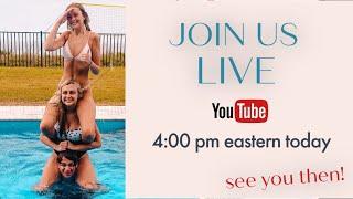 Karli, Chase & Asha Live Chat!
