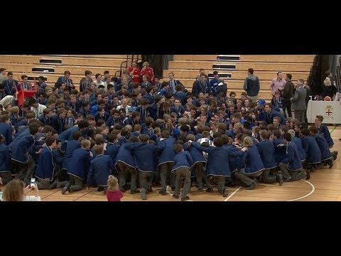 St Peter's College vs Prince Alfred College Basketball Intercol 2017