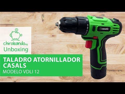 Taladro Atornillador Casals 12v Modelo VDLI12 / Chiroleando.uy