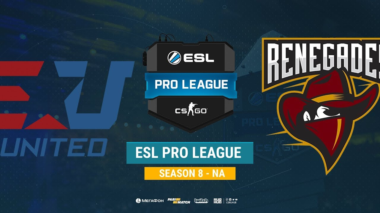 eUnited vs Renegades - ESL Pro League S8 NA - bo1 - de_mirage [SSW,  Anishared]