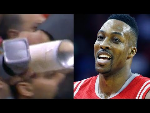 Dwight Howard CAUGHT USING STICKUM Mid-Game