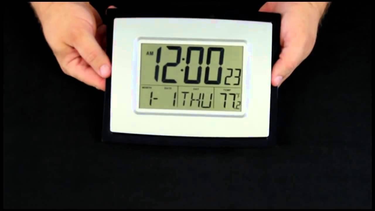 Wt 8002u Digital Wall Clock You