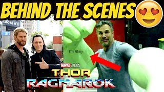 Thor: Ragnarok Behind the Scenes Ft. Chris Hemsworth & Tom Hiddleston - I'm Filmy - 2017