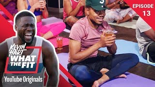 Download Beer Yoga with Chance the Rapper | Kevin Hart: What The Fit Episode 13 | Laugh Out Loud Network Mp3 and Videos