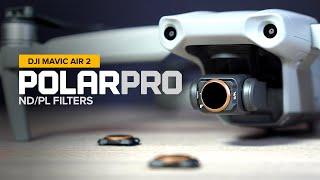 Polarpro Vivid Collection Filters For The Dji Mavic Air 2 Youtube