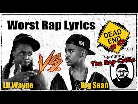 Teaser for Worst Lyrics Dead End Hip-Hop Special: Lil Wayne vs. Big Sean