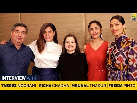 Richa Chadha, Freida Pinto, Mrunal Thakur, Tabrez Noorani Interview | Love Sonia | Anupama Chopra
