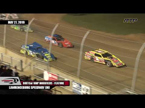 """2019 UMP Modifieds """"Memorial Day Spectacular"""" At Lawrenceburg Speedway - HIGHLIGHTS"""