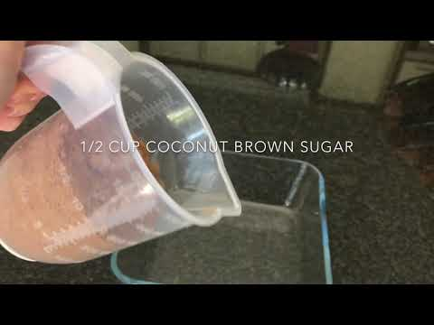 Chocolate brownies with Cocavo coconut oil