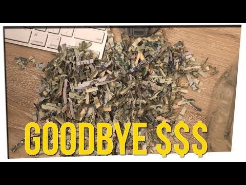Child Puts Stack of Cash In Shredder?! ft. DavidSoComedy