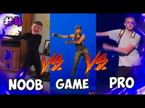 FORTNITE FLOSS VS NOOB VS PRO #4