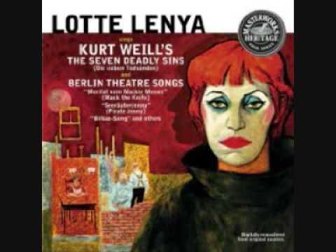 Lotte Lenya - Die Sieben Todsünden - part 1