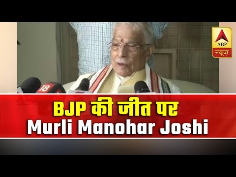 Opposition didn't have a strong leader against Modi, says Murli Manohar Joshi