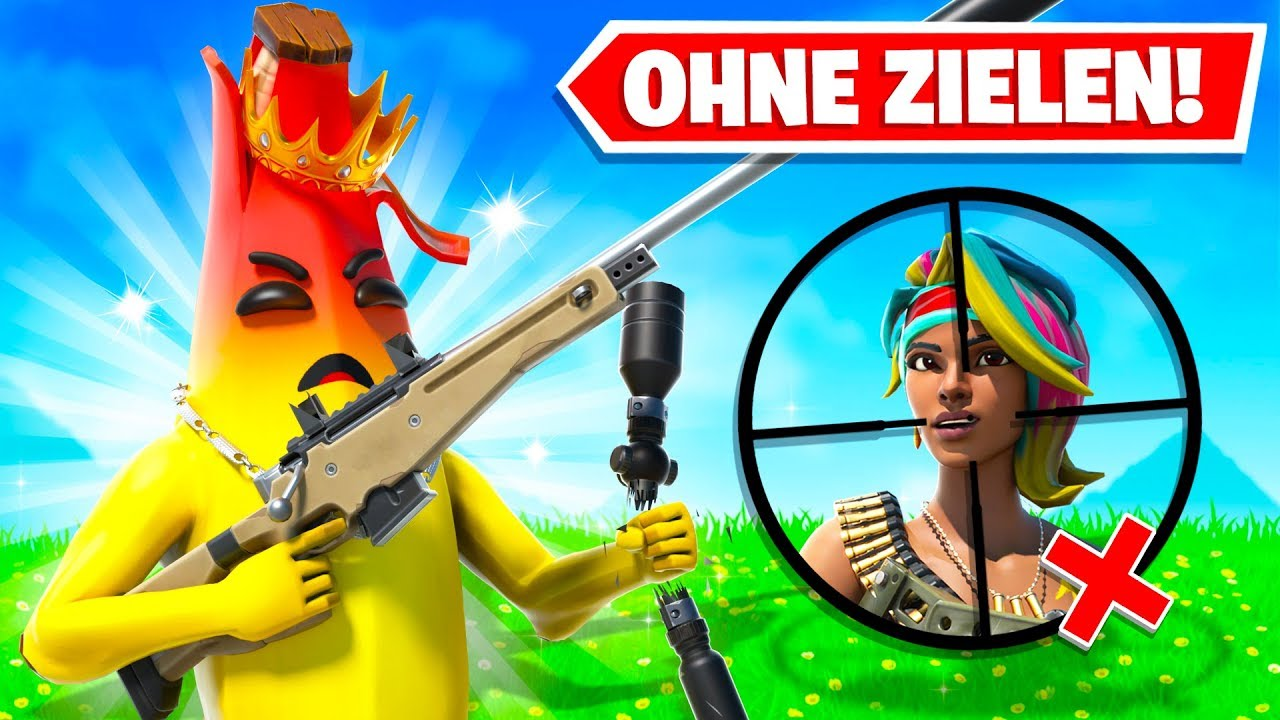 Download ich darf nicht ZIELEN und muss GEWINNEN... (Challenge) in Fortnite Deutsch