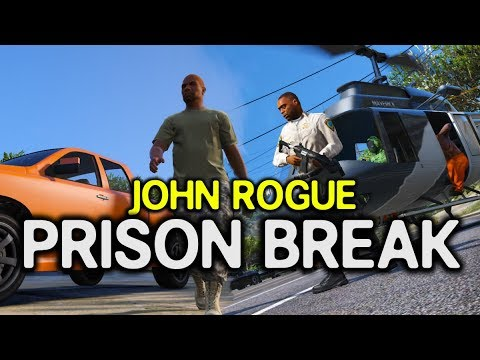 John Rogue: Prison Break (GTA RP Cinematic)