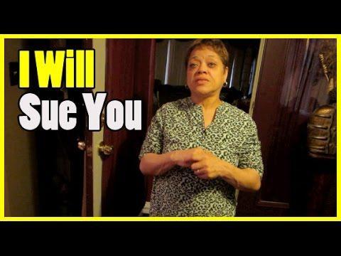 I Will Sue You