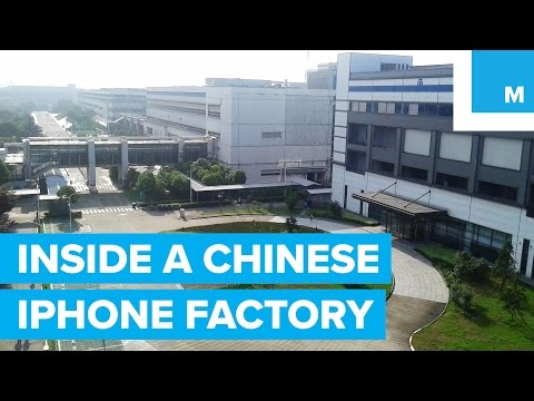 NYU Student Went Undercover in a Chinese iPhone Factory