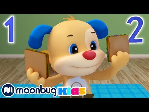 Laugh & Learn With Fisher Price - Living Room Picnic | ABC's & 123's | Educational Cartoons For Kids