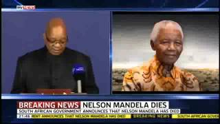 BREAKING NEWS  Nelson Mandela Dead Aged 95   OFFICIAL News Announcement President Jacob Zuma 2 2