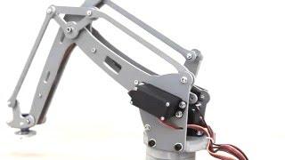 SmartJohnY#04 DIY 4-Axis Servos Control Palletizing Robot Arm Model for Arduino UNO MEGA2560