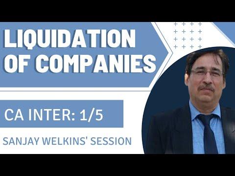 Liquidation of Companies - Part -1