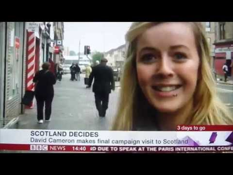 100% YES in Possilpark - BBC