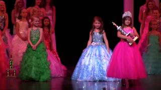 Crowning: Little Miss Princess of America 2014