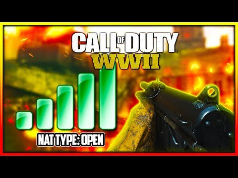 How to Open Nat Type in Call of Duty WW2 & Other Games