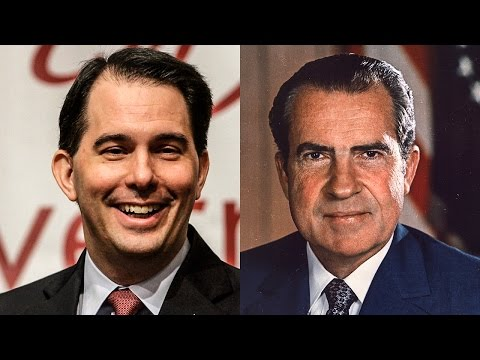 Is Scott Walker the Political Reincarnation of Richard Nixon? - The Ring Of Fire