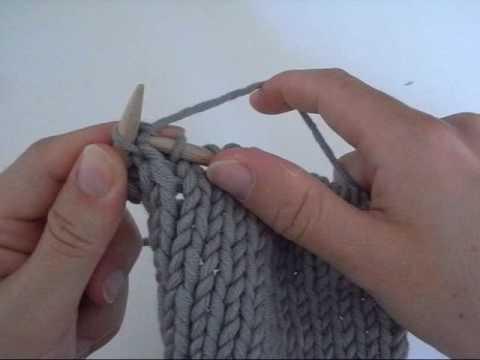tuto tricot augmenter maille
